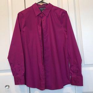 Jones New York dress button collared shirt M women